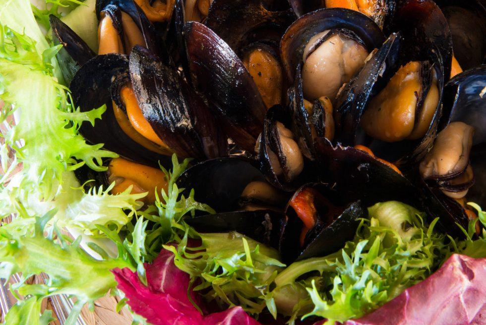 Piatto a base di pesce del ristorante Giardino Eden Iscchia