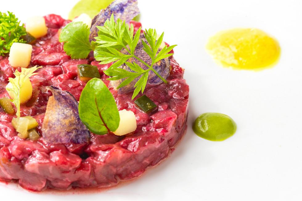 la cucina del ristorante panoramico Giardino Eden di Ischia