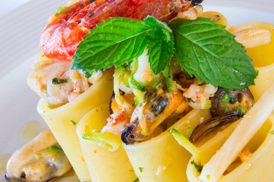 Piatto gourmet ristorante eden ischia