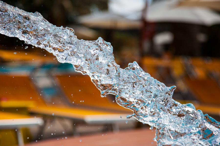 le acque del parco beach club giardino eden ischia