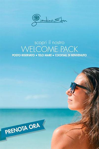 welcome pack giardino eden ischia