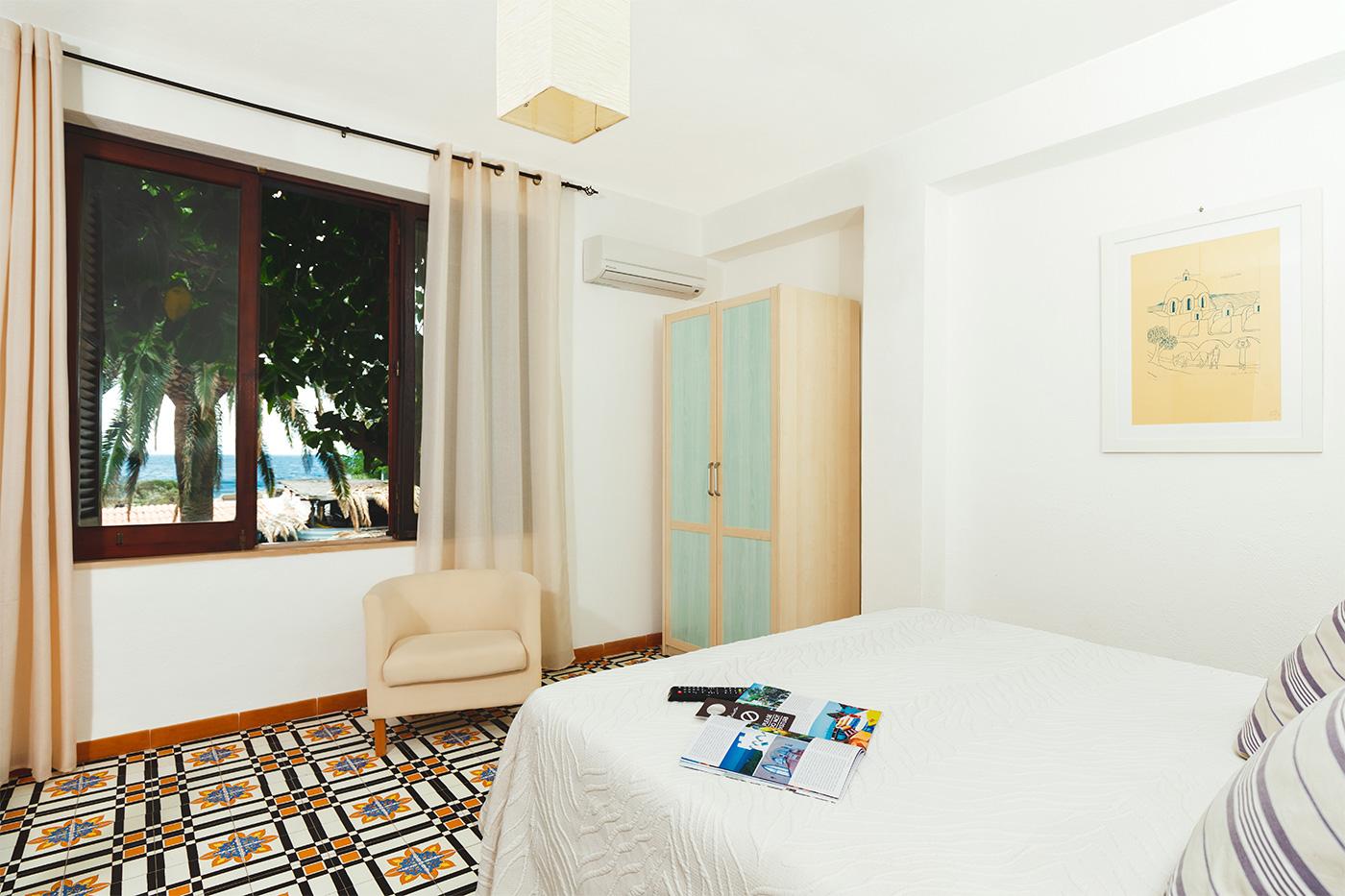Camera standard hotel 3 stelle Giardino Eden Ischia