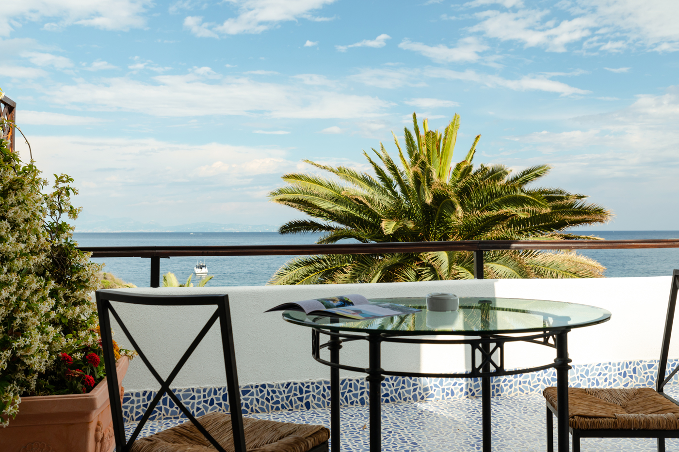 vista mare hotel giardino eden ischia